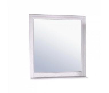 Зеркало ASB-Woodline Берта 85 массив ясеня белое
