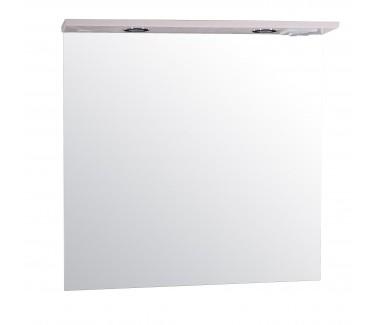 Зеркало ASB-Mebel Коста 80 ясень белый