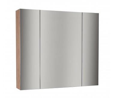 Зеркальный шкаф ASB-Mebel Лира 85 Дуб золотой