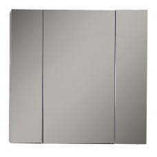 Зеркальный шкаф ASB-Mebel Лира 85 Серый камень
