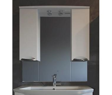 Зеркало с двумя пеналами ASB-Mebel Мессина 100