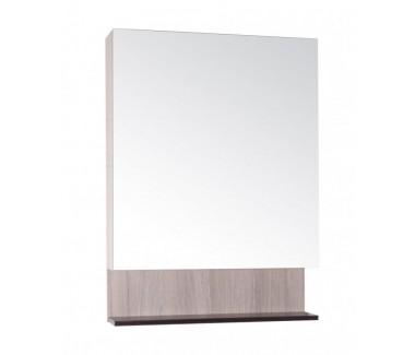 Зеркало ASB-Mebel Мираж 65 Дуб молочный/бук тироль