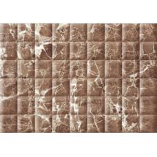 AXIMA плитка настенная МЭДИСОН 280х400мм коричневая рельеф