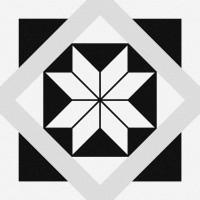 КЕРАМОГРАНИТ CERSANIT STREAM БЕЛЫЙ 29,8х29,8 SM4A053