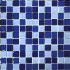 МОЗАИКА Global Bridge  30x30 M4CB3306 микс темно-голубой