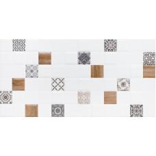LASSELSBERGER Настенная плитка декор 1 Астрид 1041-0238 20х40 белая