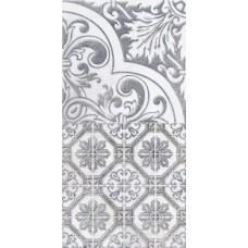 LASSELSBERGER Настенная плитка декор3 Кампанилья 1641-0095  20x40 серый