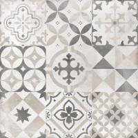 LASSELSBERGER Керамогранит Цемент Стайл КГ 6046-0359 45x45 орнамент светло-серый