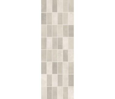 LASSELSBERGER Настенная плитка панно мозаика Фиори Гриджо 1064-0102 20х60 светло-серая