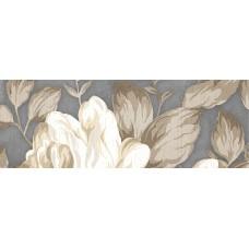 LASSELSBERGER Бордюр настенный Фиори Гриджо 1501-0100 7,5х20 цветы