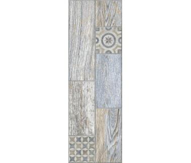 LASSELSBERGER Керамогранит декор Индиго 3606-0028 20х60 голубой
