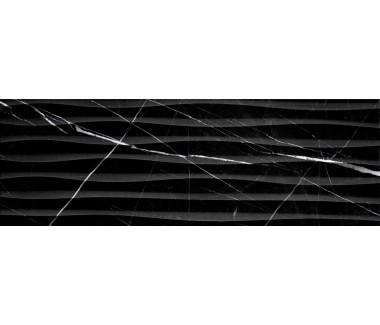 LASSELSBERGER Настенная плитка Миланезе Дизайн 1064-0166 20х60 неро волна