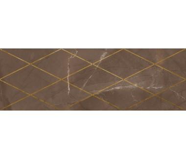 LASSELSBERGER Настенная плитка декор Миланезе Дизайн 1664-0147 20х60 римский марроне