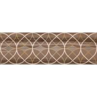 LASSELSBERGER Настенная плитка  декор Модерн Марбл 1664-0007 20х60 темная