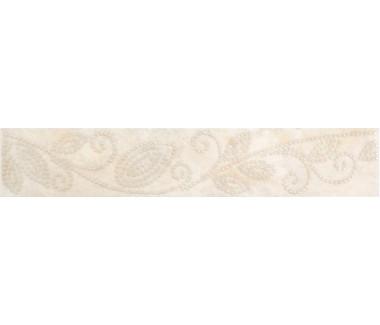 LASSELSBERGER Бордюр настенный Оникс жемчуг 1501-0045 4,5x25 бежевый