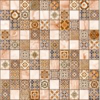 LASSELSBERGER Керамогранит арт-мозаика Орнелла 5032-0199 30х30 универсальный коричневая