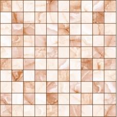 LASSELSBERGER Керамогранит мозаика Орнелла 5032-0201 30х30 коричнневая