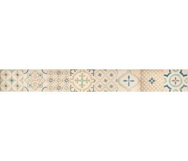 LASSELSBERGER Бордюр настенный Парижанка 1506-0173 7,5x60 мульт.