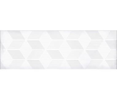 LASSELSBERGER Настенная плитка декор Парижанка 1664-0184 20x60 гексагон белая
