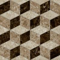 LASSELSBERGER Керамогранит декор Скольера 6046-0350 45x45 геометрия бежевый