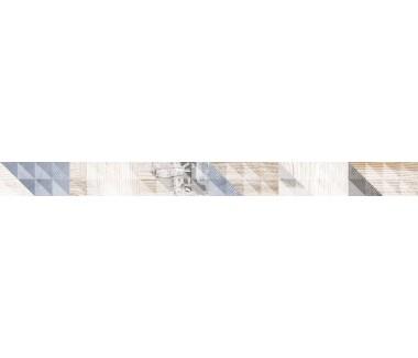 LASSELSBERGER Бордюр настенный Вестанвинд 1506-0024 5x60 серый